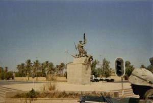 baghdad statue